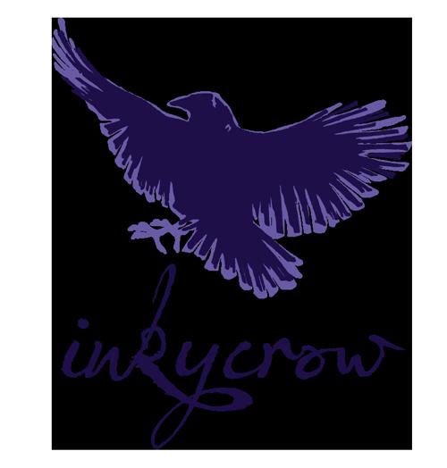 InkyCrow Art logo